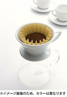 Kalita Wave Drip Coffee Filter WHITE KWF-155 100 Sheets 1-2 Cups s7136 free ship 4