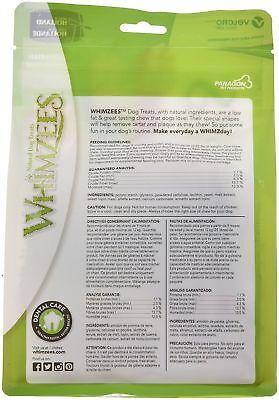 Whimzees Toothbrush Medium 12 Pack - Healthy Vegetarian Gluten Free Dog Chew