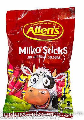 ALLEN'S MILKO STICKS - 64 STICKS (approx) - Allens Sweets Party Buffet Lollies 4