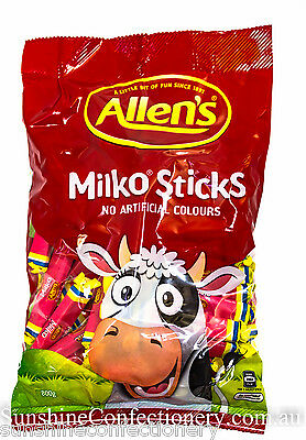 Allen's Milko Sticks - 64 Sticks (approx) - Allens Sweets Party Buffet Lollies 4