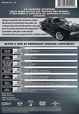 Fast And Furious - Cofanetto 7 Film (7 Dvd) Edizione Italiana 2