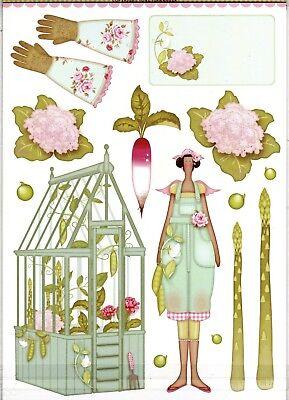 Tilda's Flower Garden A4 New Tilda Papercraft Pack