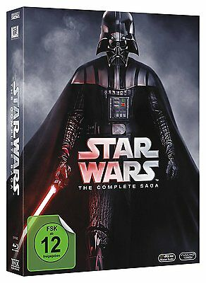 Star Wars The Complete Saga I-Vi - Episode I Ii Iii Iv V Vi Blu-Ray 2