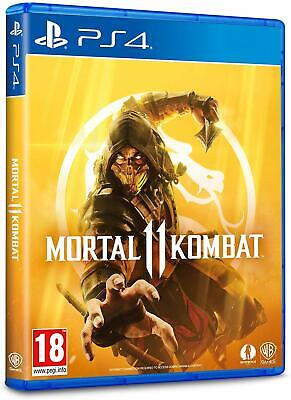 Mortal Kombat 11 PS4 PlayStation 4 IN STOCK NOW Brand New & Sealed UK PAL 2