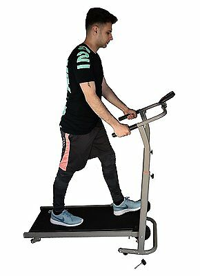 Manual Treadmill Walking Running Cardio Portable Incline Fitness Workout 2