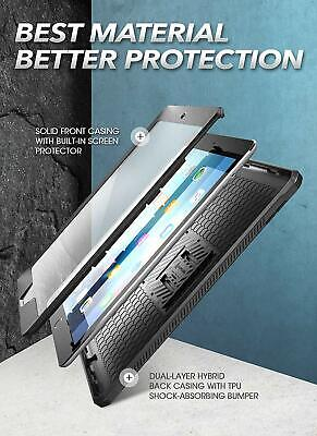 For iPad 10.2 2019 / iPad 7th Gen Case, SUPCASE UB PRO Cover w/ Screen Protector 4