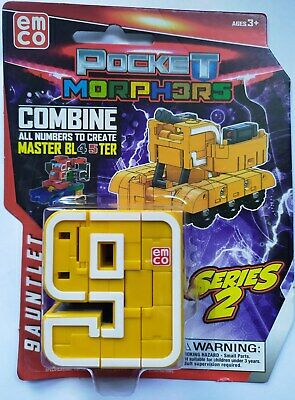 EMCO POCKET MORPHERS NUMBERS 0-9 COLLECT THEM ALL TO CREATE MEGA BOTZ