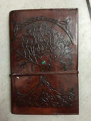 Refillable Leather Journal Antique Handmade Leather Travel Diary notebook 2
