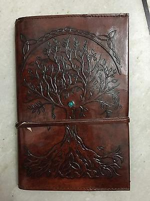 Refillable Leather Journal Antique Handmade Leather Travel Diary notebook 3