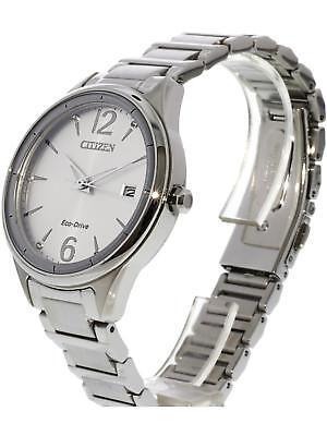Citizen Eco Drive Women's FE6100-59A Diamond Accents Silver-Tone 37mm Watch 2