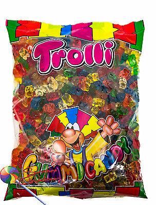 GUMMI BEAR LOLLIES  - 2KG - TROLLI  (gummy bears) 2