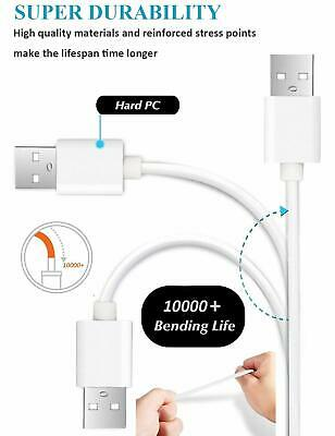 Heavyduty Braided Micro USB Charger Charging Lead Data Sync Phone Cable 1M 2M 3M 11