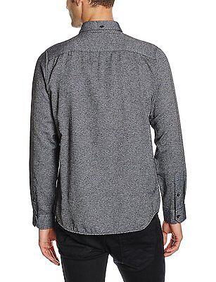 JACK & JONES Long Sleeve Shirt New Mens Slim Fit Plain Casual Smart Bail Shirts 2