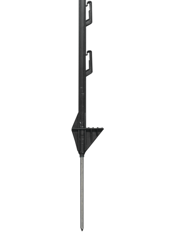 Doblit 3FT Black Poly Electric Fencing Post Deals Great Quality 50 pcs