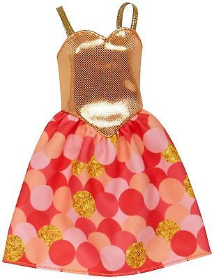 LOT of 7 Genuine Mattel Barbie Doll Dolls Fashion Clothing Clothes Dress Dresses 10