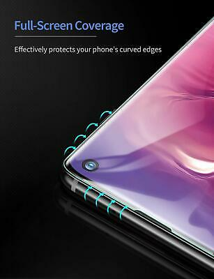 For Samsung Galaxy S10 S10 Plus S10E Full Coverage Hydrogel Screen Protector 3
