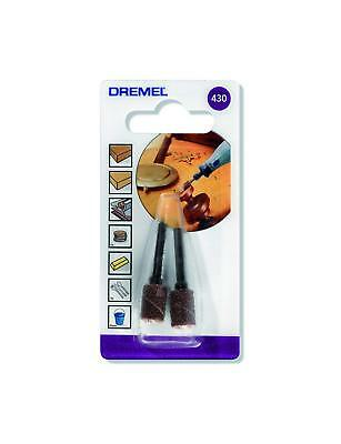 Dremel 430 Sanding Drum 60Grit For Smoothing & Shaping Pack of 2 2