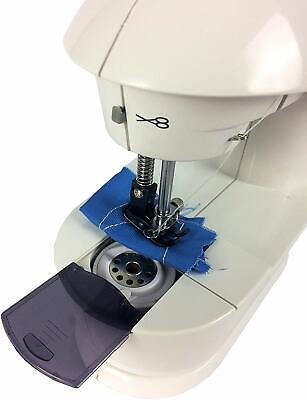 Maquina de coser portátil corriente 220w con pedal costurera costura 4 en 1 5