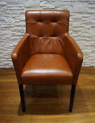 Echtleder Esszimmerstuhle Mit Armlehnen Stuhl Sessel Esszimmer Echt