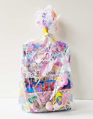 1 x UNICORN THEMED PRE FILLED KIDS GIRLS PARTY LOOT BAGS FOR BIRTHDAYS 3