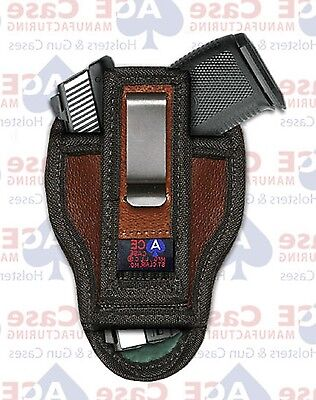 RUGER LCP II With Laser Concealed Iwb Holster By Ace Case - Usa Made