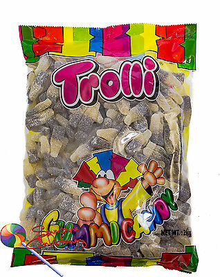 SOUR COLA BOTTLE LOLLIES  -  2KG  -  TROLLI - Lolly Buffet, Parties 2