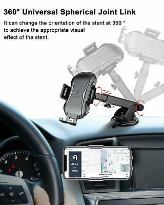 Automatic Clamping Qi Wireless Car Charging Charger Mount Air Vent Phone Holder 11
