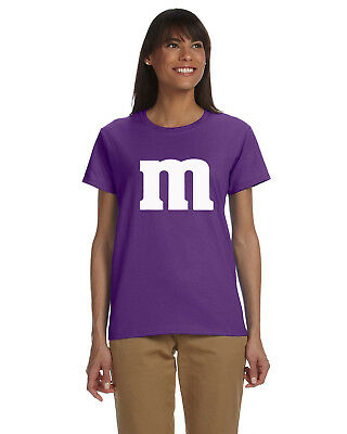 M & M Ladies Tee Shirt cheap and easy Christmas Gift! Funny Unique