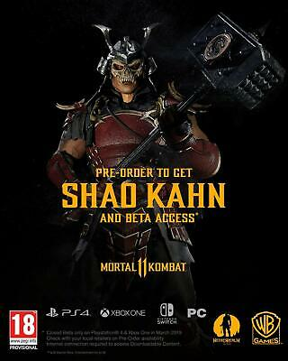 Mortal Kombat 11 PS4 PlayStation 4 IN STOCK NOW Brand New & Sealed UK PAL 8
