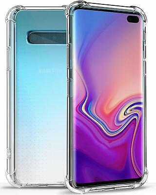 For Samsung Galaxy S10 S10 plus S10e Lite S9 Clear Case Cover Shockproof Bumper 2