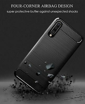 For Samsung Galaxy A50 A70 A20 A30 A10e Shockproof Carbon Heavy Duty Case Cover 5