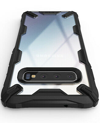 For Samsung Galaxy S10 Plus Case Ringke [FUSION-X] Shockproof Armor Bumper Cover 10