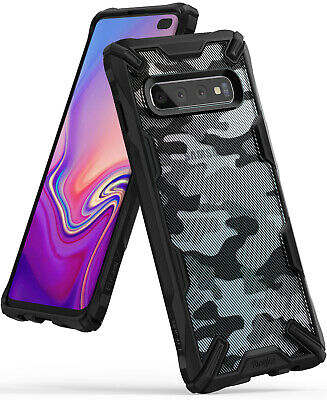 Samsung Galaxy S10, S10 Plus, S10e Ringke [FUSION-X DDP DESIGN] Tough Cover Case 4
