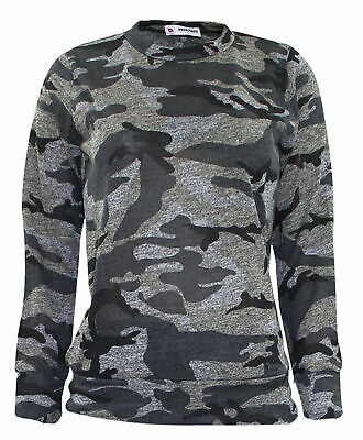 5-6 YRS Girls Camouflage Print 2-Piece Lounge Wear Tracksuit Jogging Bottoms Top 2