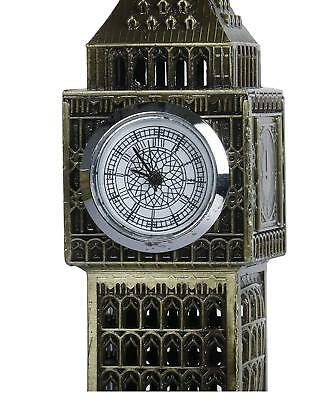 "London Big Ben Clock Tower Showpiece with Watch Collectible Antique Showpiece 7"" 2"