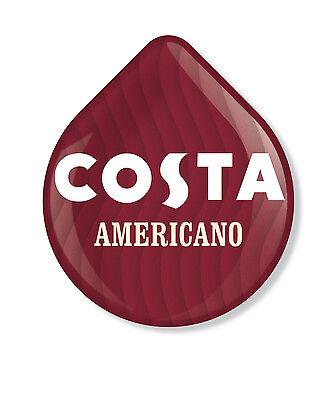 48 x Tassimo Costa Americano Coffee T-disc (Sold Loose) 2