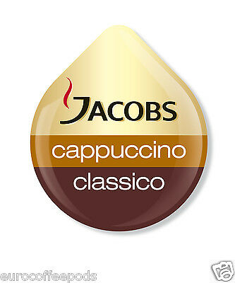 Tassimo Jacobs Cappuccino Coffee 24 T-Disc 12 Servings Sold Loose 2