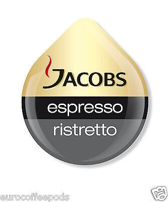 Tassimo Jacobs Espresso Ristretto Coffee 16 T-Discs / Servings 6