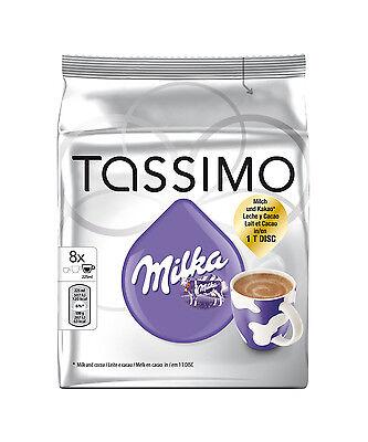 Tassimo Hot Chocolate Pack - Cadbury, Milka, Suchard 3 packs 32 T- Disc/ Drinks 6