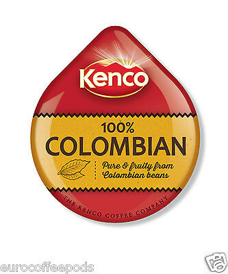 48 x Tassimo Kenco Colombian Coffee T-disc (Sold Loose) 48 T-Discs/ Servings 3