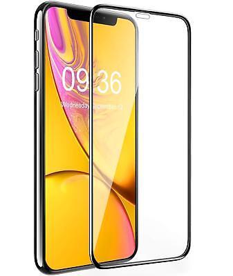 9D Vitre Verre Trempé Film protection protecteur écran iPhone XS XR X XS Max 5