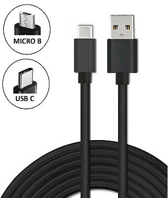 Heavyduty Braided Fast Charge USB C Type C Data Phone Charger Cable kabel 2m 3m 3