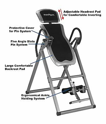 Innova Health and Fitness ITX9600 Heavy Duty Deluxe Inversion Therapy Table 2