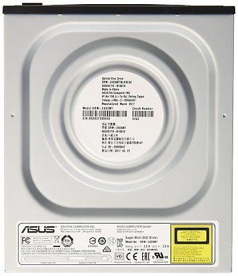 DVD / CD Brenner ASUS DRW-24D5MT SATA intern Laufwerk Bulk Schwarz, für den PC