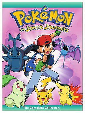 pokemon season 1 2 3 4 5 indigo league orange islands johto complete