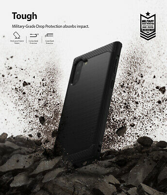 For Samsung Galaxy Note 10 Case | Ringke [ONYX] Rugged Shockproof TPU Back Cover 8