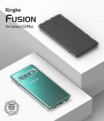 Galaxy S10 5G S9 S8 Plus S10e Case Genuine RINGKE FUSION Clear Cover For Samsung 3