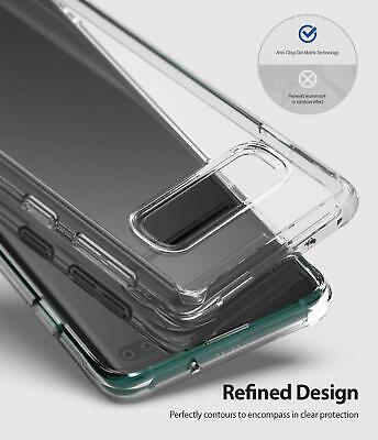 Galaxy S10 5G S9 S8 Plus S10e Case Genuine RINGKE FUSION Clear Cover For Samsung 10