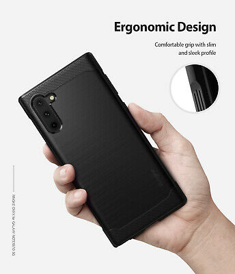 For Samsung Galaxy Note 10 Case | Ringke [ONYX] Rugged Shockproof TPU Back Cover 9