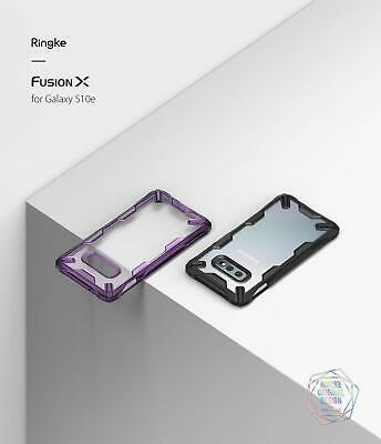 Galaxy S10 S10e S10+ Plus Case Genuine RINGKE FUSION X Clear Cover For Samsung 3